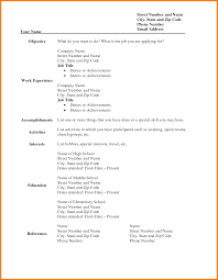 99 Printable Blank Resume Form Blank Bill Of Sale For Trailer