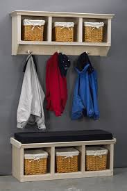 Wall Mounted Coat Rack With Cubbies Hoot JudkinsToyboxesWall Mounted Cubby Coat RackstorageCabinet 16