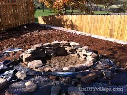 Stacked Stone Fire Pit building a stacked stone fire pit the diy village 8974 by uwakikaiketsu.us