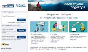 hdfc net banking hdfc internet banking
