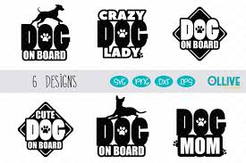 First time in 800 years. Dog On Board Svg Bundle For Car Decals 566781 Cut Files Design Bundles