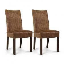 Cadeira de madeira estofada feitas especialmente para você. Cadeira Rustica Estofada Em Rattan Ibiza Iaza Moveis