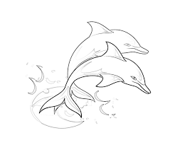 Small Picture Printable Dolphin Coloring Pages Coloring Me