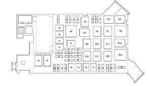 toyota tacoma ii (2005 to 2015) fuse box diagrams, location and