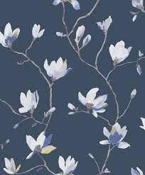 Suzhou by Casadeco - Ink - Wallpaper ...