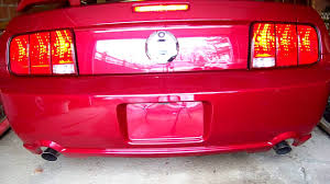 sequential taillight kit install on a 2007 mustang gt