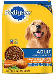 Chicken And Rice Flavor Adult Dog Food Pedigree