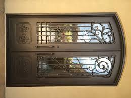 iron front doorsWrought Iron Double Entry Doors Scottsdale AZ  VMW