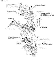 2001 dodge ram truck dakota 4wd 4 7l fi sohc 8cyl repair guides exploded view of cylinder head and related components 2 2l f22b2 engine