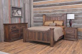 Lodge Bedroom Furniture Home Furnishings For Cabin Interiors Bedroom Collection