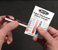 Trading Card Size Chart How To Tell How Thick A Card Is And Pick The Right Top Loader