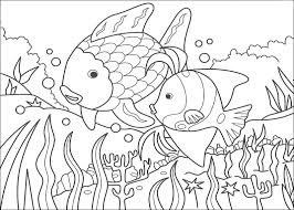 Pesce Arcobaleno Disegni Per Bambini Da Colorare