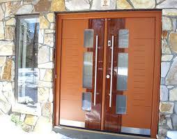 Entry Door Pull Hardware door knob front view exterior door