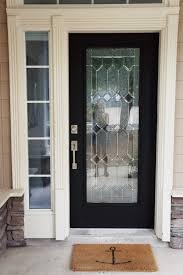 black front doorDIY How I Painted 3 of My House Doors Matte Black