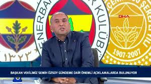 Son dakika haberleri! SPOR Semih Özsoy Nihat Özdemir'in ihracı konusunda  gerekeni yapacağız - Haberler
