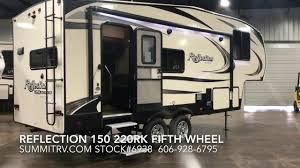 Grand Design Small Travel Trailer 2018 Grand Design Reflection 150 Series 220rk Fifth Wheel At Summit Rv In Ashland Ky