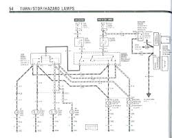 Turn signal wire diagram