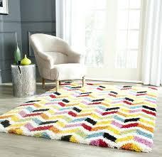 5x7 kids rug kids yellow red area rug