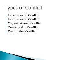 stress conflict management  destructive conflict 17