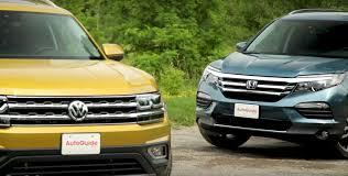 2018 Volkswagen Atlas vs. Honda Pilot Review Doesn't Fit the ...