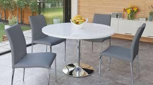 white round table regarding white round dining table 4 legs