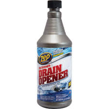 zep commercial pro strength drain opener 32 oz case of 12 zep drain cleaner53