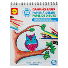 alex toys artist studio drawing paper 50 sheets