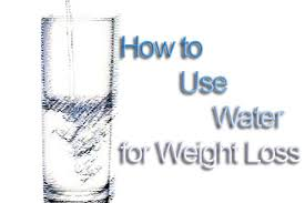 Image result for how to lose weight with water