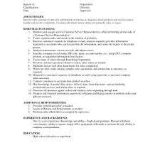 Customer Service Representative Resume Sample Free Downloads 20