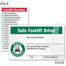 forklift license template download free forklift certification card template forklift certification