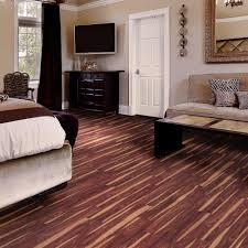 Best Vinyl Plank Flooring For Kitchen Trafficmaster Take Home Sample African Wood Dark Resilient Vinyl