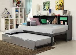 Bedroom: Twin Trundle Bed For Smart Space Saving Solution ...