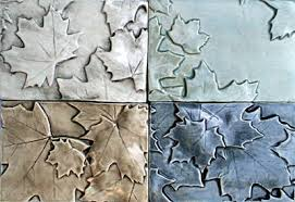 Decorative Relief Tiles Decorative Ceramic Tile Maple Leaves Panel Mural Borders and 89