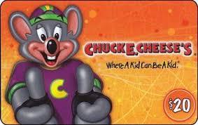 chuck e cheese s