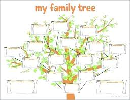 Genealogy Family Tree Forms Irish Family Tree Template Republic Army Templates For Powerpoint