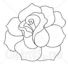 Small Picture Best 25 Rose outline ideas on Pinterest Simple rose Small rose
