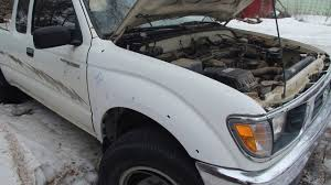 Toyota Tacoma (1995) 2.7L 4Cly Blown Engine Review. - YouTube