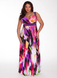 Maxi Dresses For Wedding Guest Plus Size