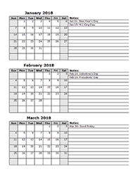 custom calendar templates calendar template 2018