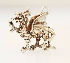 sterling silver welsh dragon charm 20x18mm 292090161010 2