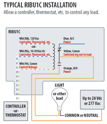 ribu1c relay wiring diagram ribu1c wiring diagrams online buy ribu1c enclosed pilot relay rib ribu1c