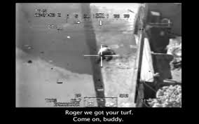 wikileaks greatest stories wounded reuters journalist saeed chmagh is caught in the crosshairs of a us apache helicopter gunsight