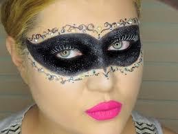 masquerade mask makeup collab