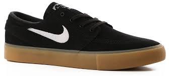 Nike Sb Stefan Janoski Shoes Black White Gum Light Brown Zoom Stefan Janoski Rm Skate Shoes