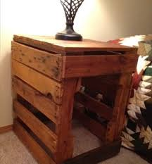 cool pallet furniture. 75 Most Cool Pallet Nightstand Do It Yourself Pallets | Wooden Furniture In How To Build A With Secret Compartment Ingenuity