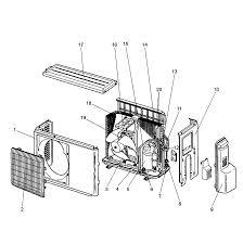 Mitsubishi model muz fd12na air conditioner heat pump outside unit genuine parts
