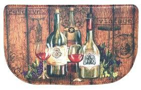 wine kitchen rugs wine kitchen rugs themed rug memory foam vintage bottles bistro decor cushion slice