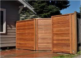 The Humble Wood Fence in Falls Church VA Contemporary Style