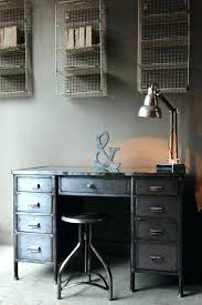 industrial style office furniture. Industrial Home Office Style Desk Vintage . Furniture