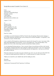 Closing Of A Cover Letter Cover Letter Closing Bereavement Counselor